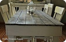 Easy Plans for a DIY Farmhouse table