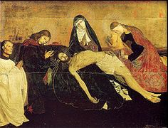 The Avignon Pieta by Enguerrand Quarton