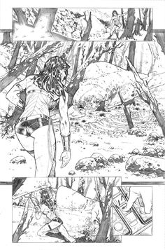 Superman WonderWoman 07 page 04 by PauloSiqueira