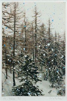 Gerhard Richter 1992 14.9 cm x 10 cm  Öl auf Farbfotografie