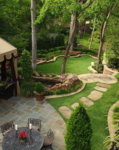 Large backyard landscaping ideas are quite many. However, for you to achieve the best landscaping for a large backyard you need to have a good design. Small Backyard Landscaping, Backyard Patio, Landscaping Ideas, Backyard Ideas, Patio Ideas, Modern Backyard, Desert Backyard, Sloped Backyard, Outdoor Ideas