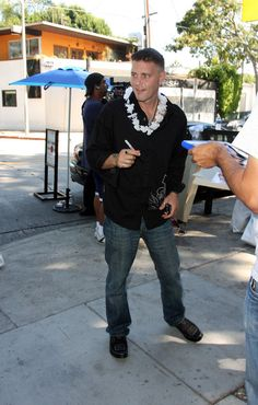 Corey Haim Photos Photos - Celebs arrive and leave Sunstyle Tanning on Robertson Blvd where they can pick up swag for the 2008 Primetime Emmy Awards which will take place on Sunday September 21st. - Celebs get their Emmy swag