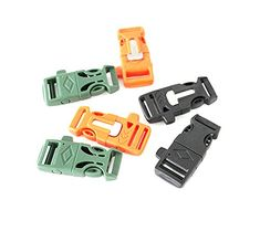 Braudle Flint Fire Starter Whistle BucklesEmergency Gear Flintstone Starter Scraper WhistlesPack Of 6 Assorted ColorBest For Hiking Camping ** Be sure to check out this awesome product.Note:It is affiliate link to Amazon. #unitedstates