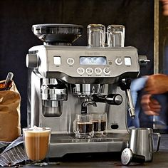 Breville Oracle Espresso Maker Had a demo at the SF Williams-Sonoma and was blown away.