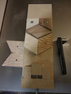 Jig for gluing hexagons - by moshel @ LumberJocks.com ~ woodworking community