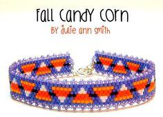 Julie Ann Smith Designs FALL CANDY CORN by JULIEANNSMITHDESIGNS