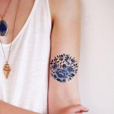 This Is the #1 Tattoo Trend on Pinterest Right Now via @ByrdieBeautyUK