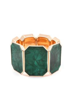 Nella Bracelet in Oxford Green