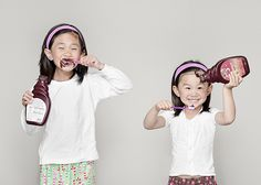 My girls only wish!  Chocolate syrup brushing!  By Jason Lee of jwl photography