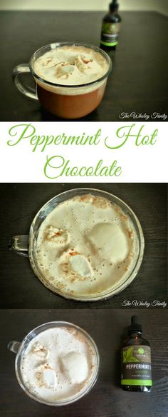 Healthy Vegan Peppermint Hot Chocolate + Essential Oil Giveaway!! Peppermint oil is one of the most versatile essential oils and can be used from headaches to stomach aches. Get the amazing benefits of peppermint oil in a delicious, soothing drink!