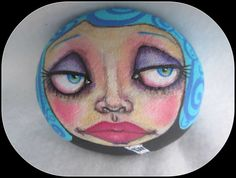 Painted RockPaPerWeighT by CreativeCharacterS on Etsy, $33.50