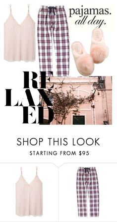"""Untitled #762"" by vika-krut ❤ liked on Polyvore featuring Skin, Izod and LovelyLoungewear"