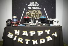 A Good vs. Evil Star Wars Dessert Table | Boy Birthday Party Ideas and Supplies - Spaceships and Laser Beams