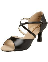 "Capezio Women's SD02 Rosa 2.5"" Flared Heel Shoe"