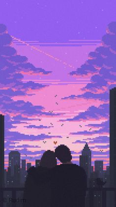 Aesthetic Backgrounds, Aesthetic Iphone Wallpaper, Aesthetic Wallpapers, Aesthetic Space, Aesthetic Anime, Sky Anime, Anime Pixel Art, 8bit Art, Anime Scenery Wallpaper