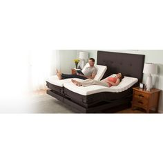 A mattress with electrically adjustable firmness, massage settings and adjustment of position!