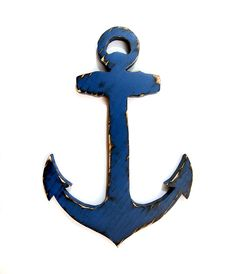 All of our creations are cut, sanded and painted with our own hands. A final coat of varnish finishes the piece to give it protection and durability. We love to create fun and unique pieces for your home. These make perfect gifts for anyone.    Dimensions of Anchor 2- Approximately 13.5 in x 9.0 ...