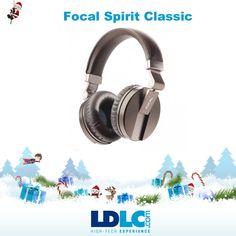 Grand jeu de Noël LDLC ! Vous avez voté pour : Focal Spirit Classic http://www.ldlc.com/fiche/PB00155900.html  Vous aimeriez gagner ce produit ? RDV le 27/11 pour vous inscrire à notre grand jeu de Noël !