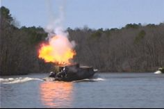 Special Effects replicate a direct hit from friendly forces.