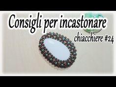 """""""Incastonare un Rivoli 14mm con rocaille 11/0"""" - YouTube"""