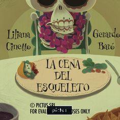 La cena del esqueleto, por Liliana Cinetto y Gerardo Baró