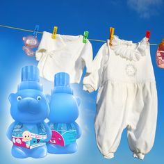 Specially formulated to keep your baby's clothes soft and fresh Cuddles 'n' Bubbles