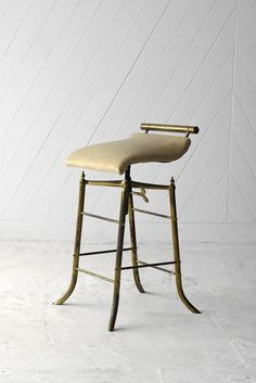 Brass Piano Stool