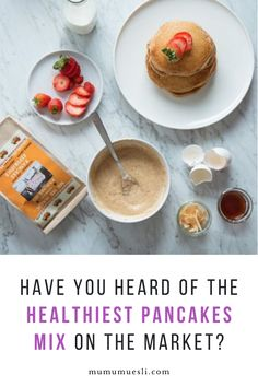 Our complete healthy pancakes mix is scrumptious! We use organic & healthy ingredients that will turn your Breakfast into a Celebration! High Energy Foods, High Fiber Foods, Healthy Recipes On A Budget, Healthy Dessert Recipes, Delicious Recipes, Easy Meals For Kids, Kids Meals, Breakfast For Kids, Vegan Breakfast