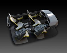 Interior Concept by Marcos Madia, via Behance