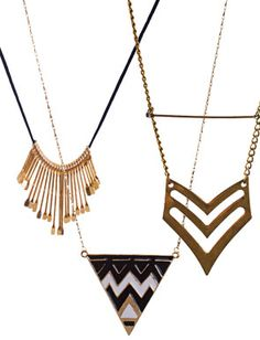Thyia Necklaces, so modern and pretty!