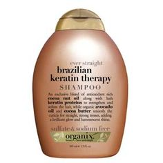 Organix Shampoo Brazil Keratin Therapy: AMAZING!! Around $7 and totally worth $20! Recommend to EVERYONE!!