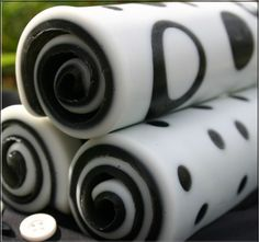 Really amazing rolled up soap.