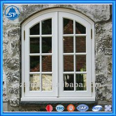 Arched French Casement Window - Buy Arched French Casement Window,Arched Casement Window,Round Top Casement Window Product on Alibaba.com