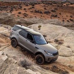 """The 2017 Land Rover Discovery is bigger, bolder and more capable than ever. You can call it """"the newly domesticated off-road superhero."""" It's also an awesome gift for your mom this Mother's Day! (See more at the link in our profile.) @roadshowautos"""