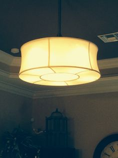 Who said ceiling fans can't be beautiful? Ceiling Fans, Decorating Ideas, Table Lamp, Canning, Lighting, Beautiful, Home Decor, Ceiling Fan, Table Lamps