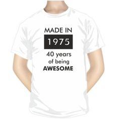 T-shirt à personnaliser pour homme et femme : MADE IN...
