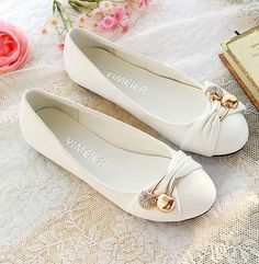 New 2014 summer women flats casual soft white round toe plus size women shoes female sapatos femininos-inFlats from Shoes on Aliexpress.com