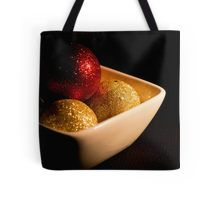 Chocolates bubbles in foil Tote Bag