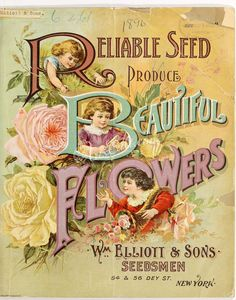 seeds_catalogs-00554 050-Frontispace, children, logo, roses botanical floral botany natural naturalist nature flowers flower beautiful nice flora plants blooming ArtsCult.com Artscult ArtsCult vintage printable public domain 300 dpi commercial use 1800s 1700s 1900s Victorian Edwardian art clipart royalty free digital download picture collection pack paintings scan high qulity illustration old books pages supplies collage wall de