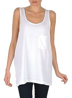 American Apparel Tops RSA0402 Weiss