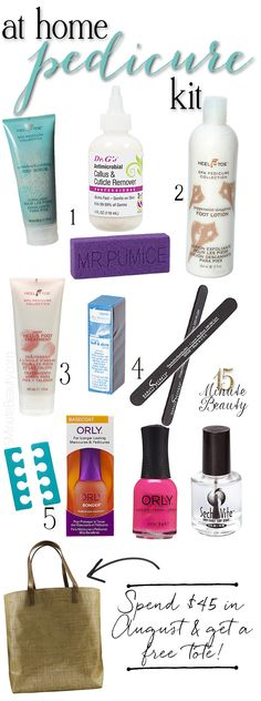 At Home DIY Pedicure Kit: Everything You Need