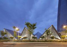 Convensia Convention Center in Incheon, Korea