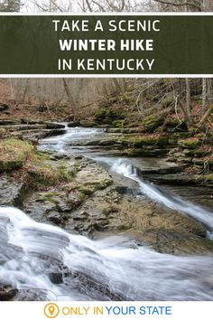 This beautiful nature preserve in Kentucky is perfect for a winter hike. You'll find 10 miles of trails, historic sites, scenic overlooks, and more. Winter Hiking, Winter Fun, Winter Travel, Hiking Spots, Months In A Year, Park City, Historical Sites, Outdoor Camping, Preserve