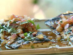 Grilled Mahi-Mahi, Ceviche-Style - Oberports approved! Best fish dish we've ever made.
