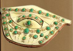 Parure de malachites entourées de perles de Joséphine (Fondation Napoléon)