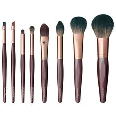 THE COMPLETE BRUSH SET ($310) ❤ liked on Polyvore featuring beauty products