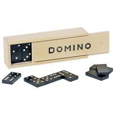 Domino game in wooden box - Gollnest & Kiesel Online Shop Kiesel, Alternative Therapies, Scrapbook Journal, Alzheimers, Everyone Knows, Caregiver, Wooden Boxes, Usb Flash Drive, How To Memorize Things
