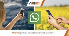 WhatsApp permitirá chatear sin intercambiar números