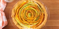 This Bloomin' Vegetable Tart Uses Crescent Dough In The Most Genius Way — Delish Crescent Roll Recipes, Crescent Rolls, Crescent Dough, Tart Recipes, Cooking Recipes, Brunch Recipes, Appetizer Recipes, Fun Recipes, Chef Recipes