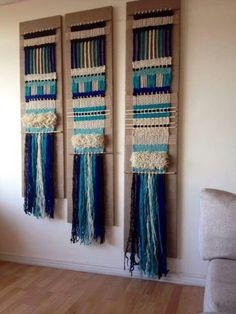 Weaving Art, Hand Weaving, Textiles, Art Textile, Weaving Techniques, Lana, Crafts, Diy, Beautiful